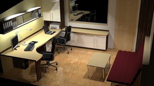 Beispiel: Arbeitszimmer