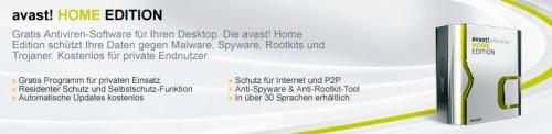 Avast Home Beschreibung