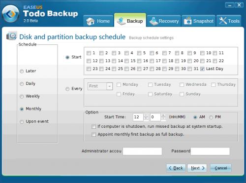 Todo Backup2 beta - Zeitgesteuert sichern