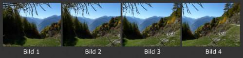 Beispiel mit 4 Einzelfotos
