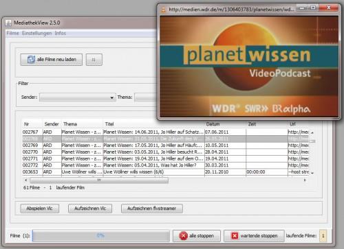 MediathekView und VLC-Player