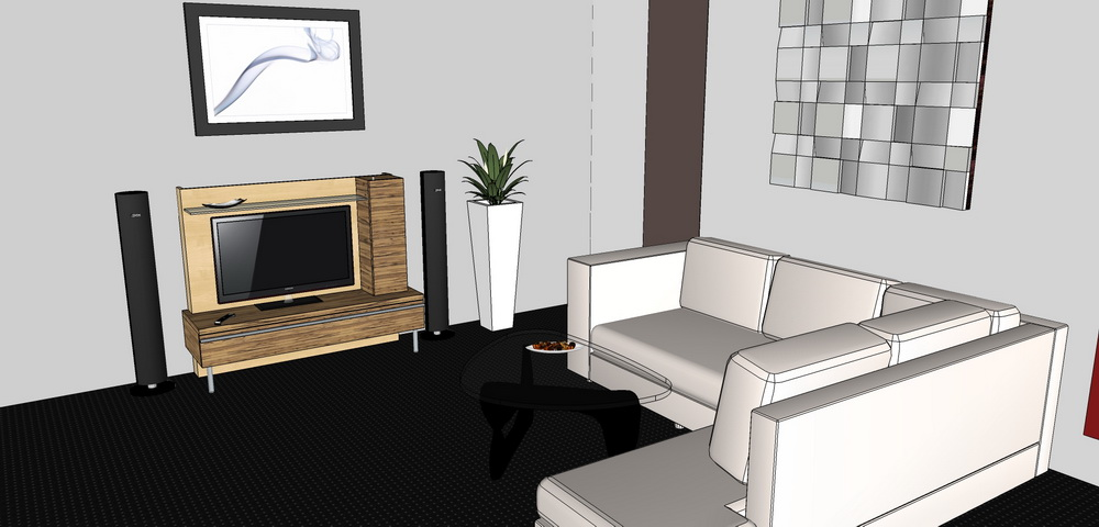 sketchup 3d archive m. Black Bedroom Furniture Sets. Home Design Ideas