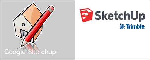 Altes und neues SketchUp Logo
