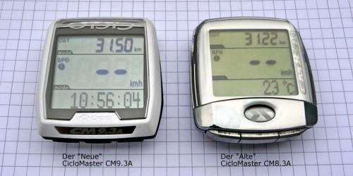 Vergleich CM9.3 A zu CM8.3 A